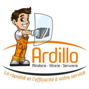 Logo Ardillo miroiterie