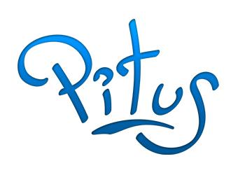 Logo bleu contacter Pitus