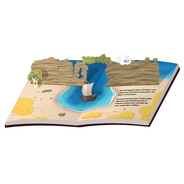 Exemple livre popup par Pitus